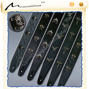 Musicalcase Custom Leather Guitar Straps pictures & photos
