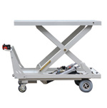 Big Platform Highly Duty Lift Table Truck (HG-1140) pictures & photos