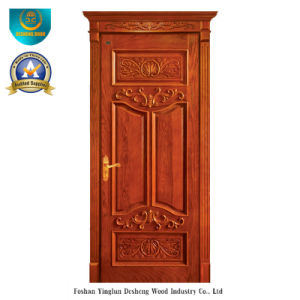 European Style Solid Wood Door with Roma (ds-025) pictures & photos