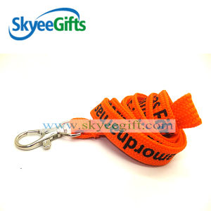 Custom ID Card Holder Nylon Printed Lanyard for Promotional pictures & photos