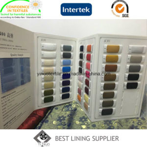 100 Polyester T400 Mechanical Stretch Lining Fabric Factory pictures & photos