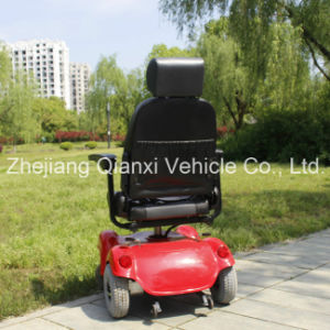 Outdoor up Leather Electric Power Wheelchair for Disably People (XFG-108FL) pictures & photos