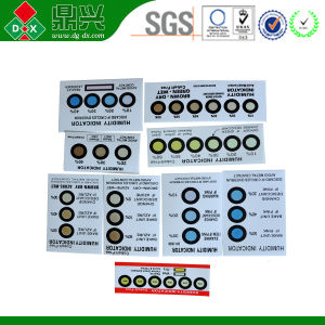 PCD Humidity Indicator Card Humidity Indicator Card Color Change pictures & photos