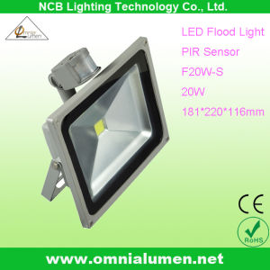 PIR Sensor 20W LED COB Floodlight