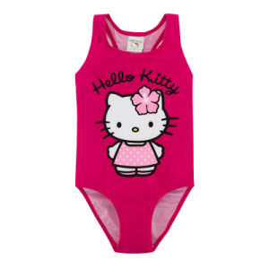 Custom Made Design Baby Girl′s Swimming Suit pictures & photos