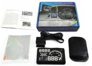 Universal Car Trip Computer V-Checker H301 Hud Speed Display pictures & photos