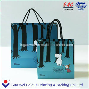 Direct Factory Machine Made Wine Paper Bag Printing pictures & photos