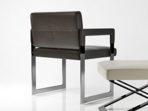 Am-02# Leather Dining Chair pictures & photos