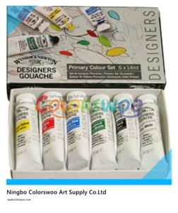 6*12ml Colors Non Toxic Acrylic Paint in Aluminium Tube for Drawing pictures & photos