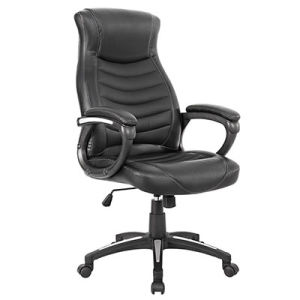 High-Quality and Comfortable Artifical Leather Office Swivel Chair (FS-2027) pictures & photos