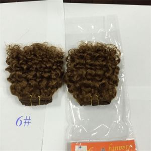 Jerry Curl Indian Virgin Human Hair Extension/ Hair Weave pictures & photos