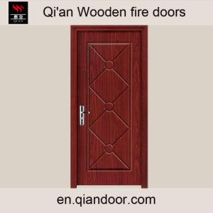 Black Walnut Veneer Solid Core Plywood Interior Door pictures & photos