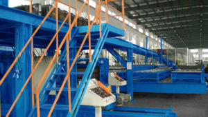 Tn40 PU Sandwich Panel Line pictures & photos