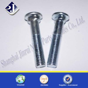 Round Head Oval Neck Bolt for Grooved Fittings pictures & photos