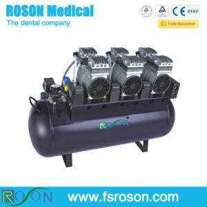 90L Oil Free Silent Air Compressor for Six Dental Unit pictures & photos