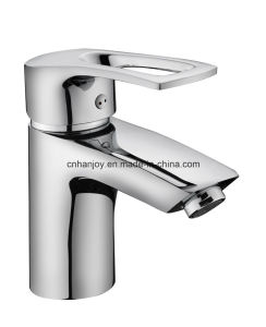 Deck Mounted Single Handle Brass Basin Tap (H07-101) pictures & photos