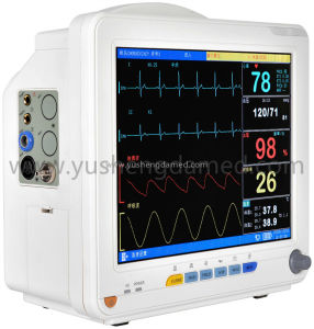 Ce Approved Hospital 12.1 Inch Portable Multi-Parameter Patient Monitor pictures & photos