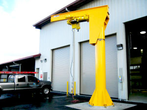 360 Degree up to Column Mounted Jib Crane pictures & photos