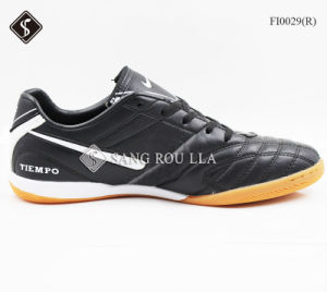 Men′ S Indoor Soccer Sports Shoes Football Footwear pictures & photos