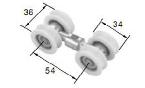 New Distinctive Roller R8056 for Aluminum Door & Window pictures & photos