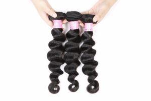 Virgin Brazilian Hair Weaving Spiral Loose Wave 16inches pictures & photos