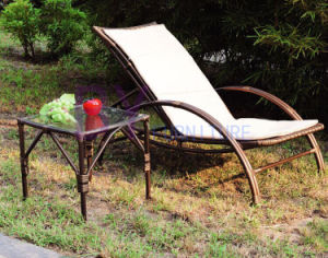 Outdoor Furniture High Quality PE Rattan Deck Chair pictures & photos