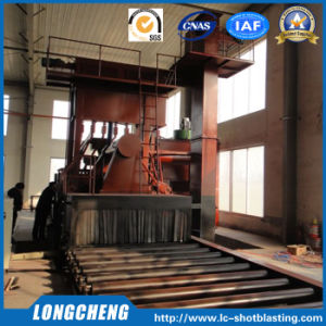 Automatic Roller Conveying Abrasive Impeller