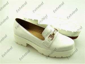 Comfort Flat Shoes for Women with New Outsole Shoes (F-101)