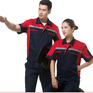 Custom Design Factory Worker Uniform/Industrial Mechanic Safety Worker Uniform pictures & photos