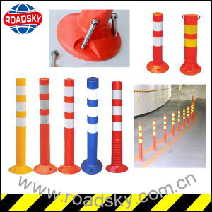 Breakway Reflective Traffic Safety Warning Post Plastic Bollard pictures & photos