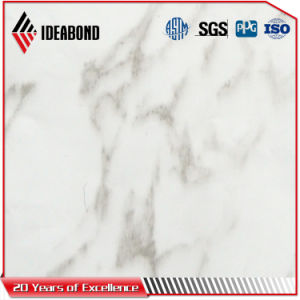 Guangdong Competitive Price 3-4mm Marble Texture Aluminum Cladding Panel pictures & photos