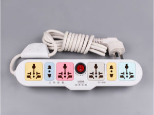 Nice Design 5 Gang Universal Multiple Extension Cord Socket pictures & photos