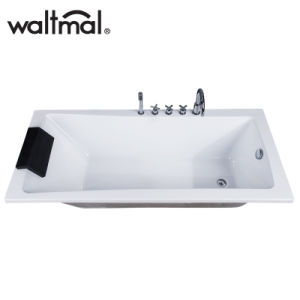 High Quality Simple Drop-in Bathtub (WTM-02820D) pictures & photos