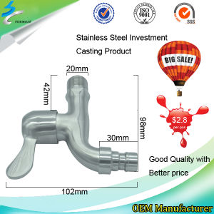 Stainless Steel Casting Laundry Faucet in Shower Fixture pictures & photos