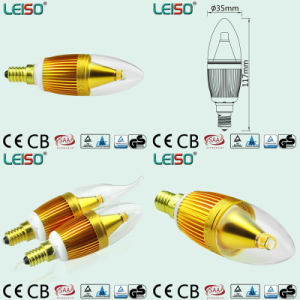 90ra 320lm 35W Replacement by 5W LED Candle Bulb (J) pictures & photos