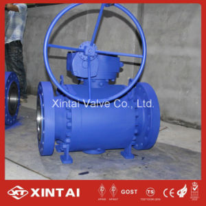 3PC Trunnion Forged Steel Flanged Ball Valve