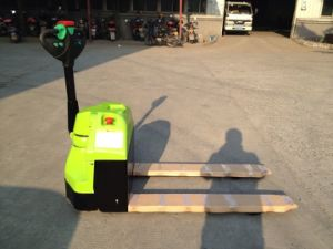2500kg Electric Powered Pallet Truck with CE Certificate pictures & photos