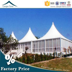 Aluminum Frame Beautiful 100 Seaters Aluminum PVC Pagoda Tent for Garden Party Gathering pictures & photos