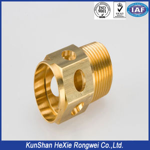 Threaded Perforated Brass CNC Milling Machining Turning Parts pictures & photos