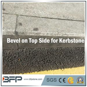 Chinese Grey Natural Stone/Granite Kerbstone for Exterior Road/ Infrastructure Projects pictures & photos