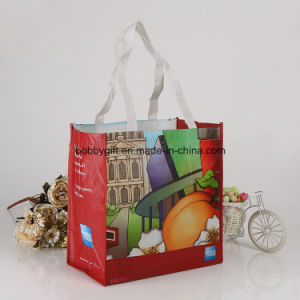 Promotional Glossy Laminated Non Woven Shopping Bag pictures & photos