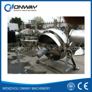 Kqg Industrial Jacket Kettle Steam Jacket Brew Kettle Tilting Evaporator pictures & photos