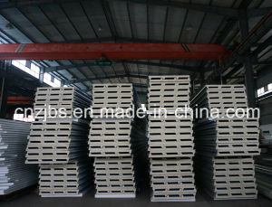 Heat Insulated PU Foam Sandwich Panel pictures & photos