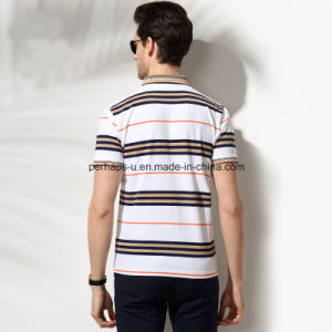 High Quality Skinny Strips Men Polo Shirt Sports Wear pictures & photos