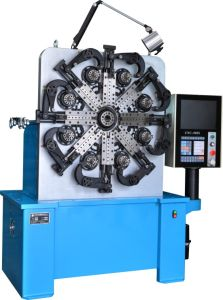 3 Axes Automatic CNC Torsion Spring Rolling Machine pictures & photos