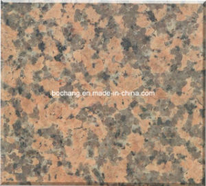 Natural Guilin Red Granite Tile pictures & photos