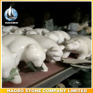 Wholesale Animal Carvings Polar Bear Home Decoration pictures & photos