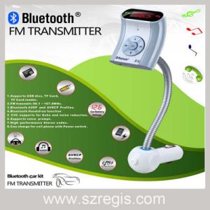 Universal Car MP3 Player Speakerphone Bluetooth FM Transmitter pictures & photos