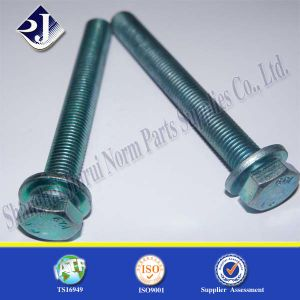 SGS Flange Bolt with Blue Zinc Plated 8.8 pictures & photos