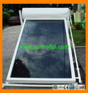 Solar Power Flat Panel Solar Water Heater pictures & photos